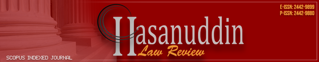 Hasanuddin Law Review